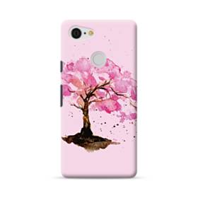 水彩画・桜の木 Google Pixel 3 ポリカーボネート ハードケース