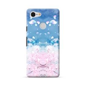 桜の花びら Google Pixel 3 ポリカーボネート ハードケース