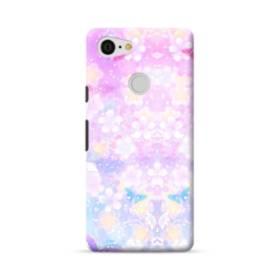 爛漫・抽象的な桜の花 Google Pixel 3 ポリカーボネート ハードケース