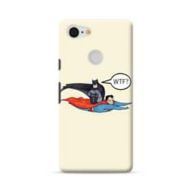 スーパーヒーロー(ファニーバッジョ) Google Pixel 3 ポリカーボネート ハードケース
