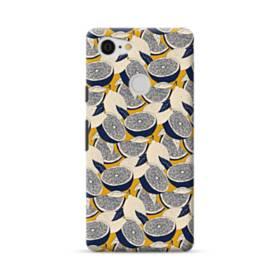 紺&大地色:レモンいっぱい Google Pixel 3 ポリカーボネート ハードケース
