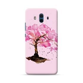 水彩画・桜の木 Huawei Mate 10 ポリカーボネート ハードケース