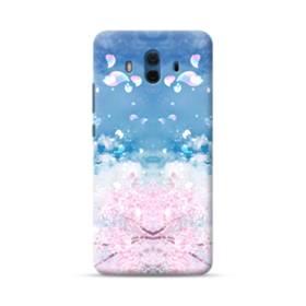 桜の花びら Huawei Mate 10 ポリカーボネート ハードケース