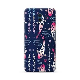 和柄:桜&錦鯉 Huawei Mate 10 ポリカーボネート ハードケース