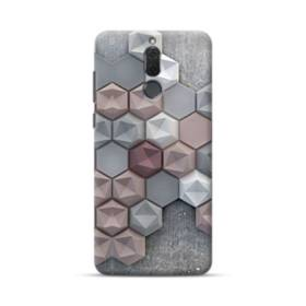 つぶつぶ六角形 Huawei Mate 10 Lite ポリカーボネート ハードケース
