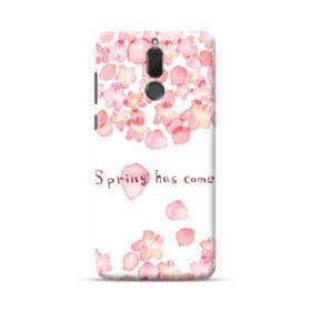 桜&デザイン英文 Huawei Mate 10 Lite ポリカーボネート ハードケース