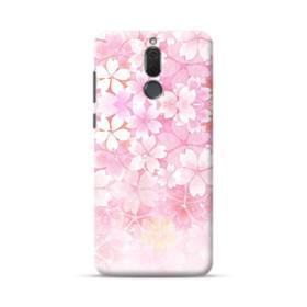 爛漫・ピンク&桜色 Huawei Mate 10 Lite ポリカーボネート ハードケース