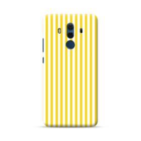 しましま イエロー Huawei Mate 10 Pro ポリカーボネート ハードケース