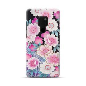 和の花柄 Huawei Mate 20 ポリカーボネート ハードケース
