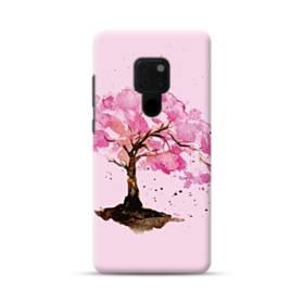 水彩画・桜の木 Huawei Mate 20 ポリカーボネート ハードケース