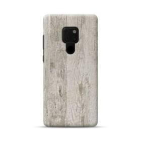 シンプルな北欧風 ホワイト木目 Huawei Mate 20 ポリカーボネート ハードケース