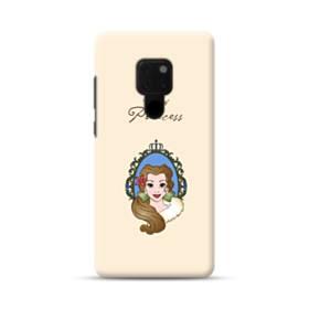ディズニー プリンセス ベル Huawei Mate 20 ポリカーボネート ハードケース