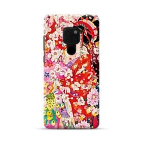 和・花魁&桜 Huawei Mate 20 ポリカーボネート ハードケース