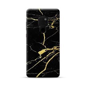 ゴールド ブラック   マーブル Huawei Mate 20 ポリカーボネート ハードケース
