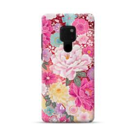 和の花柄:牡丹 Huawei Mate 20 ポリカーボネート ハードケース