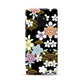 和風・桜&浪 Huawei Mate 20 ポリカーボネート ハードケース