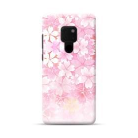 爛漫・ピンク&桜色 Huawei Mate 20 ポリカーボネート ハードケース