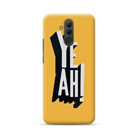デザイン アルファベット:yeah Huawei Mate 20 Lite ポリカーボネート ハードケース