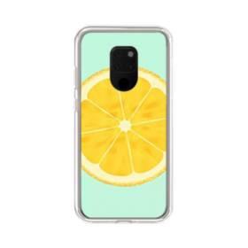 シンプル・ザ・レモン Huawei Mate 20 X ポリカーボネート クリアケース