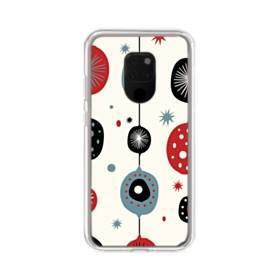 クリスマス アートなデコレーション Huawei Mate 20 X ポリカーボネート クリアケース