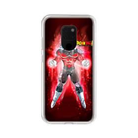 燃える!ドラゴンボール・レッドバジョン Huawei Mate 20 X ポリカーボネート クリアケース