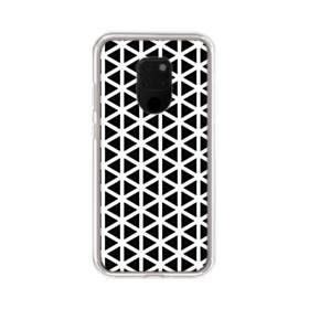アートな白黒系モチーフ② Huawei Mate 20 X ポリカーボネート クリアケース