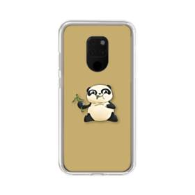 モグモグ・パンダ Huawei Mate 20 X ポリカーボネート クリアケース