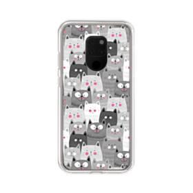 多くの子猫 Huawei Mate 20 X ポリカーボネート クリアケース