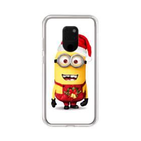 メリー クリスマス キュートなミニオンズ Huawei Mate 20 X ポリカーボネート クリアケース