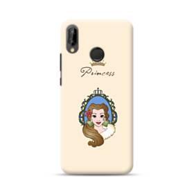 ディズニー プリンセス ベル Huawei Nova 3 ポリカーボネート ハードケース