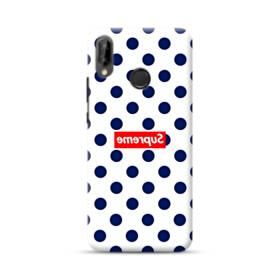 紺のドット&真っ逆になったスーパー ミ(super me) Huawei Nova 3 ポリカーボネート ハードケース