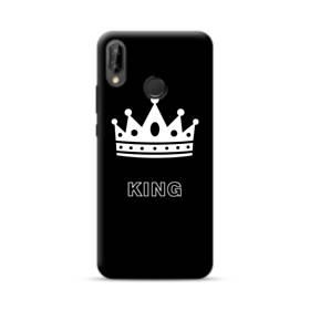 ペア・デザイン・アルファベット:King (王) Huawei Nova 3 ポリカーボネート ハードケース