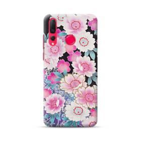 和の花柄 Huawei Nova 4 ポリカーボネート ハードケース