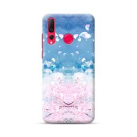 桜の花びら Huawei Nova 4 ポリカーボネート ハードケース