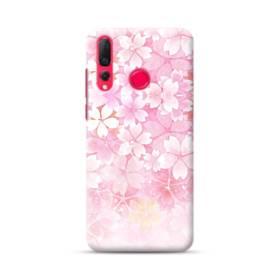 爛漫・ピンク&桜色 Huawei Nova 4 ポリカーボネート ハードケース