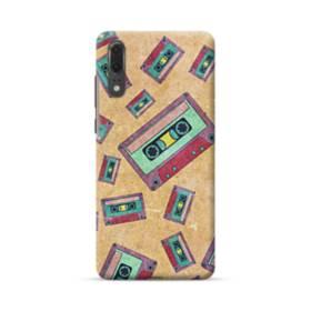 デザイン 思い出(テープ)・モチーフ Huawei P20 ポリカーボネート ハードケース