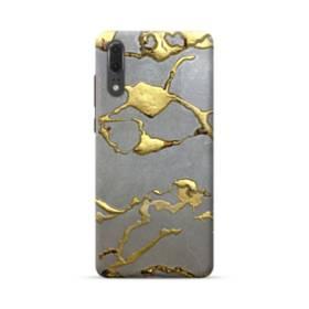 ゴールドの舞 Huawei P20 ポリカーボネート ハードケース