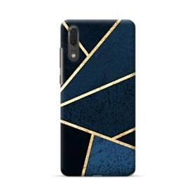 イケメン模様:紺&ゴールド Huawei P20 ポリカーボネート ハードケース