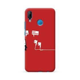 可愛いイヤホンちゃん Huawei P20 Lite ポリカーボネート ハードケース