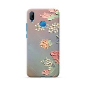 art フラワー 油絵 花 flower アート Huawei P20 Lite ポリカーボネート ハードケース