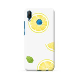ザ・果物(レモン)のパターン Huawei P20 Lite ポリカーボネート ハードケース
