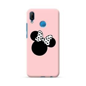 ハニー・可愛い ペア・ディズニー キャラクター:ミニちゃん Huawei P20 Lite ポリカーボネート ハードケース