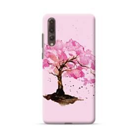 水彩画・桜の木 Huawei P20 Pro ポリカーボネート ハードケース