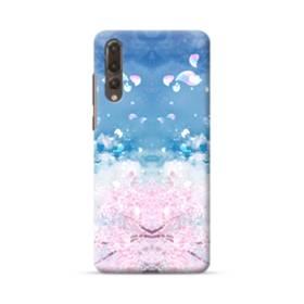 桜の花びら Huawei P20 Pro ポリカーボネート ハードケース