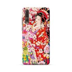 和・花魁&桜 Huawei P20 Pro ポリカーボネート ハードケース