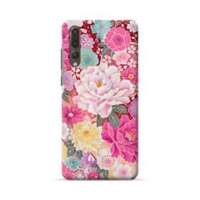 和の花柄:牡丹 Huawei P20 Pro ポリカーボネート ハードケース