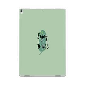デザイン アルファベット011 enjoy the little things iPad Pro 10.5 (2017) ポリカーボネート ハードケース