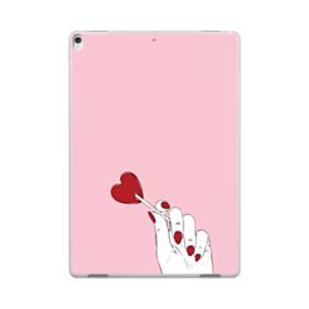 指とハート iPad Pro 10.5 (2017) ポリカーボネート ハードケース