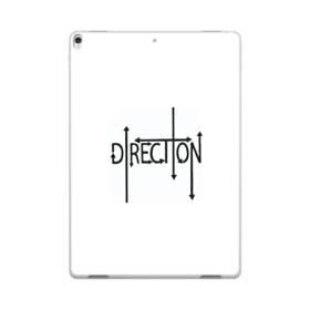 """デザイン アルファベット003、""""direction"""" iPad Pro 10.5 (2017) ポリカーボネート ハードケース"""