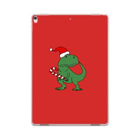 クリスマス 可愛い恐竜さん iPad Pro 10.5 (2017) ポリカーボネート ハードケース